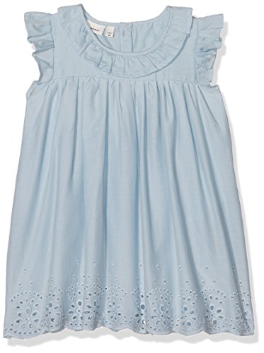 Name It Nbffalalla Capsl Dress Robe, Bleu (Cashmere Blue), 68 Bébé Fille
