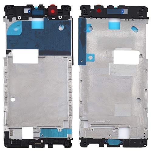YIHUI Repare Repuestos Marco Medio del Bisel de la Placa for Nokia 5 TA-1024 TA-1027 TA-1044 TA-1053 Partes de refacción (Color : Black)