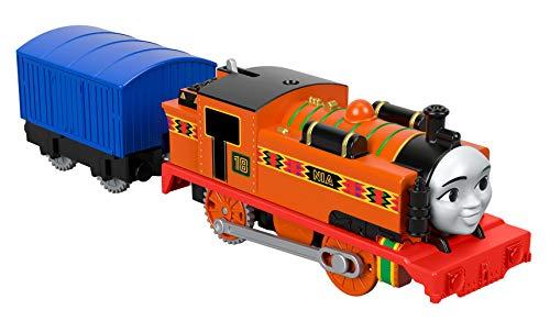 Thomas & Friends, Thomas el Tanque Motor motorizado Trackmaster de Juguete, Tren de Juguete, 3 años de Edad