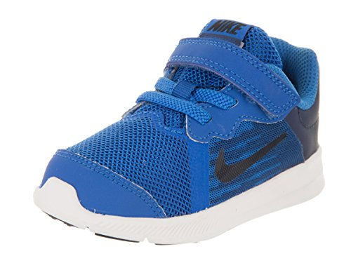 Nike Unisex Kinder Downshifter 8 (TDV) Hausschuhe, Blau (Blue Nebula/Dark OBS 401), 19.5 EU