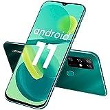 Smartphone Libre, DOOGEE X96 Pro (2021) Android 11 Moviles Baratos, Pantalla HD+ 6.52' DotDisplay, 5400 mAh, 4GB + 64GB (SD 256GB), Cámara Cuádruple de 13 MP, Dual SIM Teléfono Móvil, GPS, OTG (Verde)
