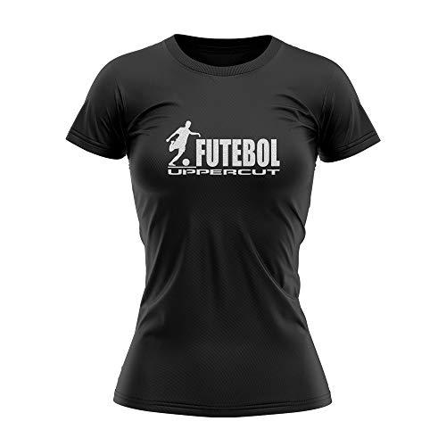 Camisa Fem Futebol Dry Tech UV-50 - Preta - P