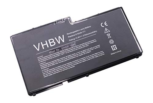 vhbw Li-Polymer Batterie 2700mAh (14.8V) pour Ordinateur Portable, Notebook HP Envy 13-1099EO, 13-1099XL, 13-1100, 13-1940EZ comme HSTNN-IB99, BD04.