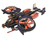 BOOBI Wooden Toy Helicopter Model DIY Ornaments Laser Cut 3D Assembly Puzzles 189PCS for Parent-Child Interaction and Gifts