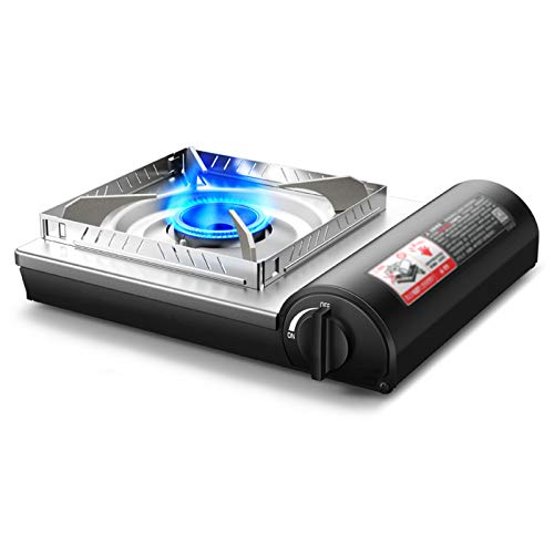 Estufa De Cassette Al Aire Libre Estufa De Gas Portátil De Olla Caliente, Estufa De Gas De Campo, Estufa De Gas Magnética con Tarjeta De Estufa, Estufa De Gas Enchufable