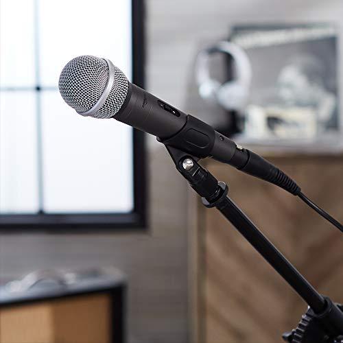 AmazonBasics Dynamic Vocal Microphone – Cardioid