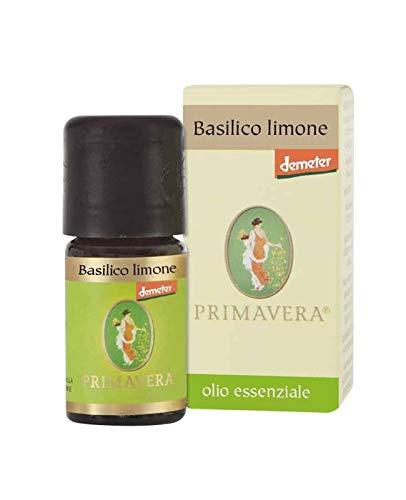 Flora etherische olie basilicum citroendemeter, natuurlijk aroma voor levensmiddelen - 5 ml