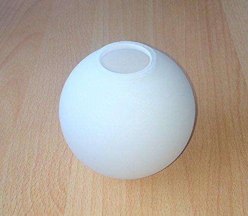 Lampenschirm G0768, Glas, Ersatzglas, Kugelglas, Schirm, Ersatzschirm, Lampenglas für Pendellampe, Tischlampe, Fluter, Leuchte