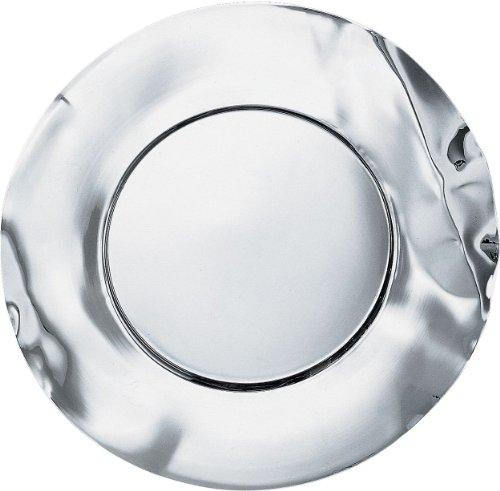 Alessi Lc02 Sitges Sous-assiette en Acier Inoxydable 18/10 Brillant