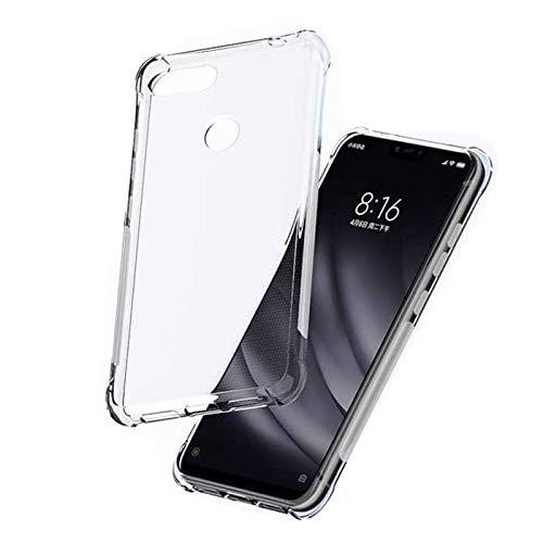 Capa Anti Shock Impactos Xiaomi Mi 8 Lite Case Transparente