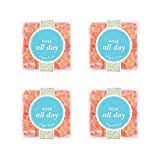 Sugarfina Rosé All Day Bears Candy Cube (Pack of 4)