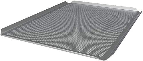 LEHRMANN Lochblech 46 x 35 mm Backblech Pizzablech Kuchenblech für Ofen Backoffen Neff Bosch Siemens