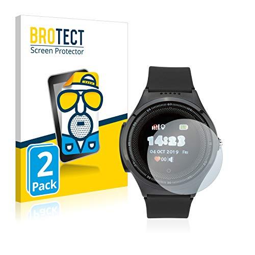 BROTECT 2X Entspiegelungs-Schutzfolie kompatibel mit JBC Weltumsegler Displayschutz-Folie Matt, Anti-Reflex, Anti-Fingerprint