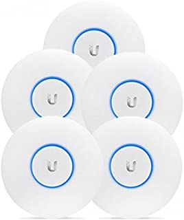 Ubiquiti Networks Unifi Access Point AC Long Range (UAP-AC-LR-5-US) 5-pack, 802.11AC Scalable Enterprise Wi-Fi Technology