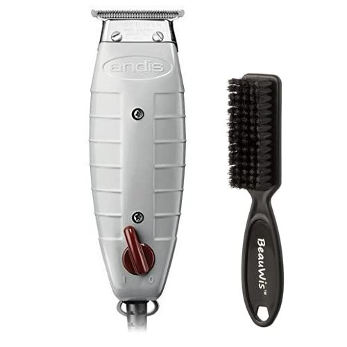 e798a474b Andis Professional T-Outliner Beard/Hair Trimmer with T-Blade, Gray,