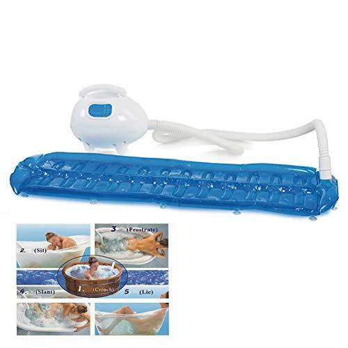 POEO Sprudelmatte: Whirlpoolmatte für die Badewanne - für die Lockerung von verspannter Muskulatur mit 450Watt