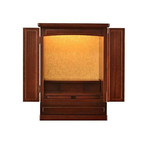 Massivholz mit Tür Buddha-Altar Kabinett Gott des Reichtum Kabinett Altar, Geeignet for Platz Ihrer Spiritual Dekoration Meditation