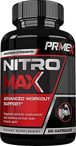 Prime X Nitro Max- Nitric Oxide Supplement - Premium Muscle Building Nitric Oxide Booster