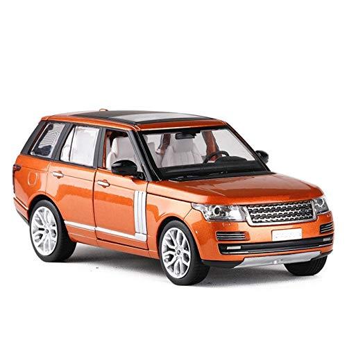 DSWS Aleación presión fundición Coche Modelo Kit 1:26 para Rango Rover Alloy Modelo Coche Regalo para Niños SUV Modelo Sound and Light Pull Back Metal Toy Car (Color : 1)