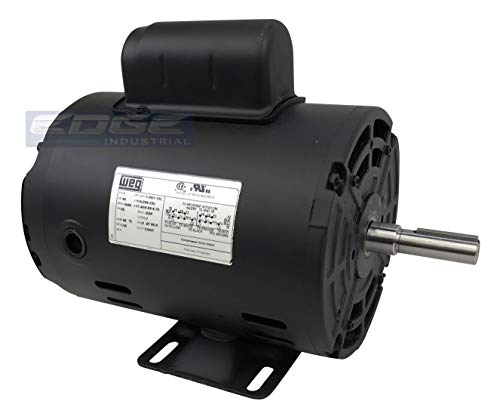 New WEG 1.5HP Electric Motor Fan Pump Compressor General purpose 56 frame 3430 rpm 1 phase 115/230VAC
