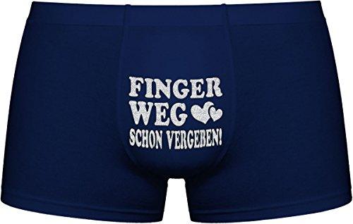 Herr Plavkin Finger Weg Schon vergeben! | Set Option Dunkel - Farbe der Unterhosen Wird zufällig bestimmt. (SCHWARZ, BLAU, GRAU .)
