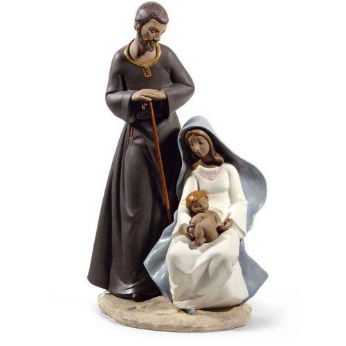"""Figura de porcelana """"La Sagrada Familia (De Belén)"""