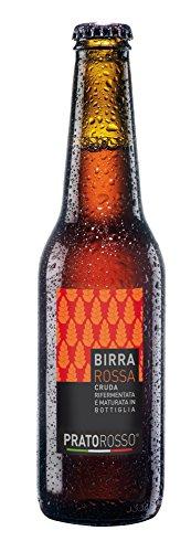 33 cl de cerveza roja Pratorosso