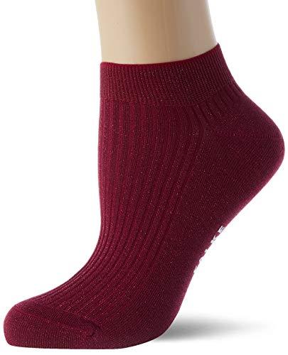 FALKE Damen Shiny Rib Lässige Socken, lila (grape 8711), 39-42