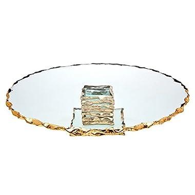 Godinger Silver Art Harper 13  Cake Plate