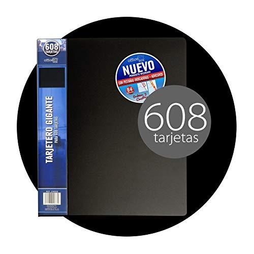 Tarjetero Gigante para hasta 608 tarjetas Office box