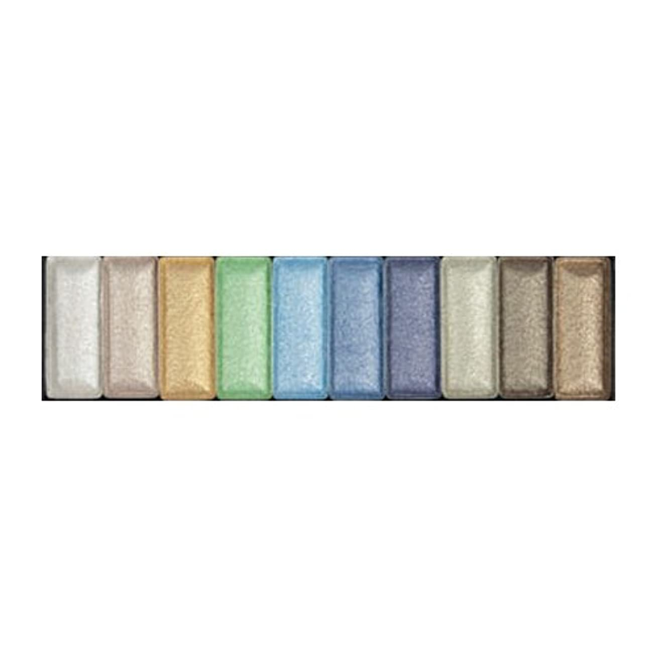 モーションファーム自由(3 Pack) LA GIRL High Definition 10 Color Palette - Delighted (並行輸入品)