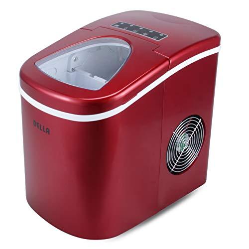 DELLA 26lbs Electric Ice Maker Machine Compact Top ...