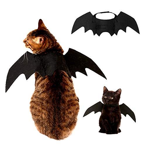 taianle Halloween Haustier Kostüm - Haustier Fledermaus Flügel Kostüm für Katze Hund Fledermaus Flügel Kostüm für Halloween Festival für Katze Und Kleinen Mittelgroßen Hund Verkleiden