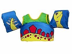 in budget affordable Life jacket body glove dinosaur swim