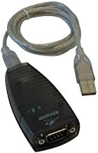 Keyspan Hi-Speed USB Serial Adapter, 3-ft. USB Device Cable, CD with Driver Software and User Guide