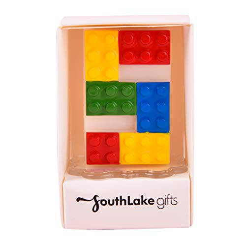Colorful Interesting Building Block Candle Number Candle for Birthday (5)