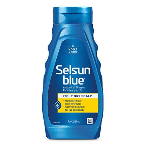 Selsun Blue Itchy Dry Scalp Dandruff Shampoo, 11 Fl Oz, Pack of 1