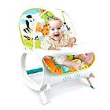Baby Bucket Baby Bouncer Rocker Cum Reclining Chair with (with Tray) & Soothing
