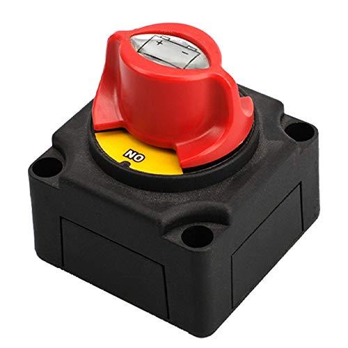 GEEKEN Interruptor de DesconexióN del Aislador de BateríA de 300A 12-48V Corte de EnergíA para VehíCulos Marinos VehíCulos Recreativos y VehíCulos Todo Terreno