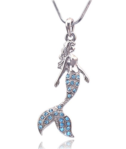 Product Image of the Mermaid Pendant Necklace Jewelry