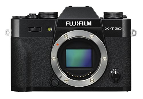 Fujifilm X-T20 Mirrorless Digital Camera, Black...