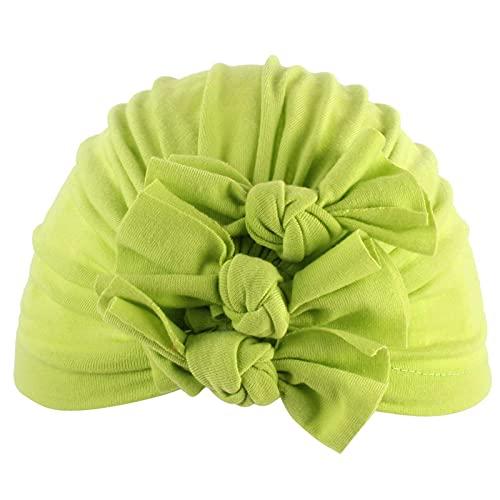 KEXIJIA Turbante para bebé, niña, niño, recién nacido, cinta para el pelo, gorro de verano, elástico, lazo, gorro para bebés de 0 a 6 meses, b, Talla única