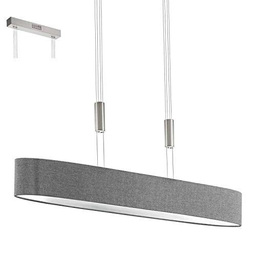 Preisvergleich Produktbild EGLO ROMAO Hängeleuchte,  Stahl,  24 W,  nickel-matt,  chrom