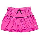 PUMA Girls Athletic Tennis Skort Running Active Yoga Gym Mesh Activewear Pink 6