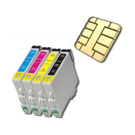 10 Druckerpatronen Kompatibel Für Epson Stylus Dx3850 Bürobedarf Schreibwaren