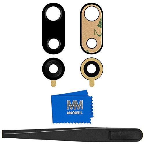MMOBIEL Back Rück Kamera Glas Linse Ersatz kompatibel mit Huawei P20 Pro 6.1 Inch inkl Pinzette und Tuch