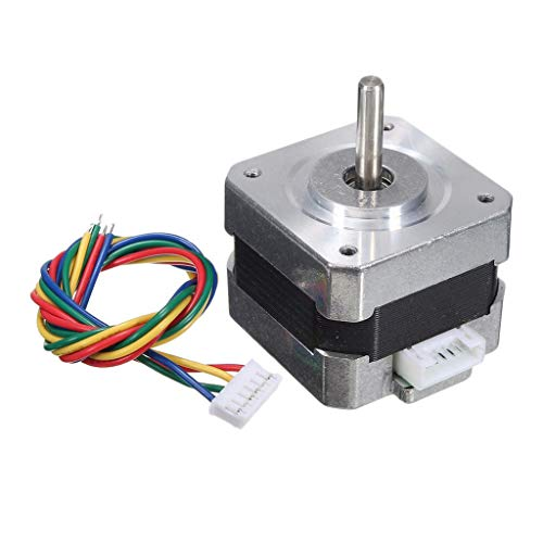 Amuzocity Stepper Motors Nema 17 Stepper Motor Bipolar 26N.m 1,8 Degree 4 Wires 12V