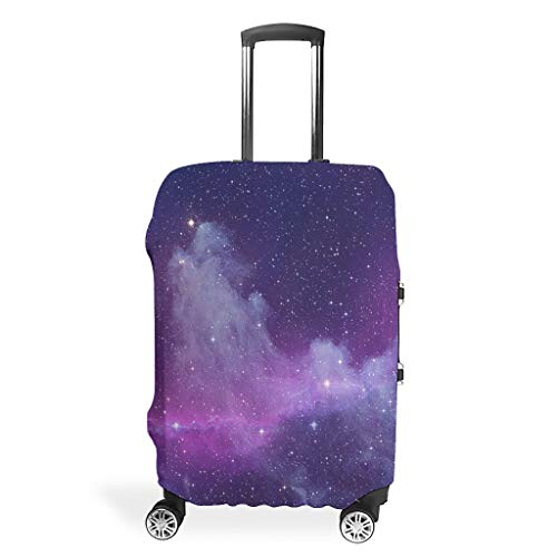 Travel Suitcase Covers – Universe Trendy Suitcase Protector Multiple Sizes Suit Protective Luggage, White (White) - BTJC88-scc