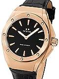 TW Steel Damen Analog Schweizer Quarzwerk Uhr mit Leder Armband CE4026