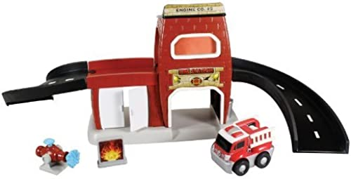 Kid Galaxy GoGo City Fire Station Playset by Kid Galaxy